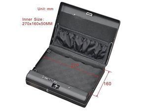 CID Fingerprint Pistol Safe Box Gun Vault Jewelry Safe Box Car Home Biometric Keyless