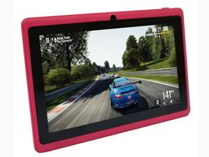 Yuntab 7 inch Tablet PC 8GB Q88 Allwinner A23 Capacitive, Google Android 4.4 ,Tablet PC with Dual core and Dual Camera Google Play Pre-loaded Pink android tablet pc