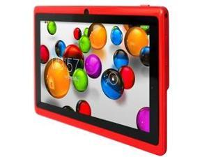 High quality Allwinner A23 Android tablet Yuntab Q88 with dual camera, 512M+4G Fashion RED, Android 4.4