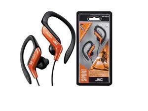JVC HA-EB75D Sports Clip Headphone Sports Headphone HAEB75 Orange HA-EB75
