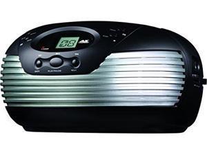 Coby CD Portable Boom Box with AM/FM Radio (Silver)