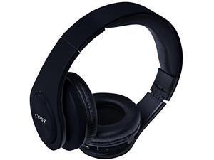 Coby CHBT-611-BLK Valor Folding Bluetooth Stereo Headphones, Black