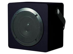 Coby CSBT-317-BLK Tune Box Portable Bluetooth Speaker, Black