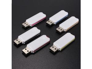 6pcs 512 MB M Glossy Chip USB 2.0 Flash Memory Drive U Disk Stick Pen Storage Thumb For Windows 7/Windows 8/Vista Random Coulour