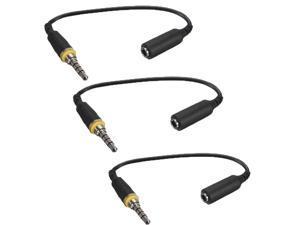 3x Headphone Earphone Adapter Plug For iPhone 5c LifeProof Waterproof Case