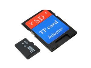 8GB Micro SD SDHC Secure Digital High Speed Flash Memory Card Class 10 with SDHC Adapter