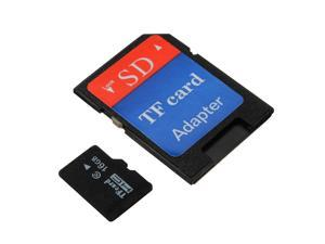 16 GB Micro SD SDHC Secure Digital High Speed Flash Memory Card Class 10 + SDHC Adapter