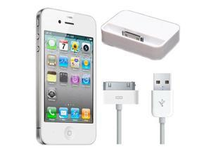 White Sync Dock Charge+ 1M 3FT USB Data Sync Charger Cable  High Quality  For iPad 3 2 iPhone 4S 4 3GS 3G iPod Touch NEW