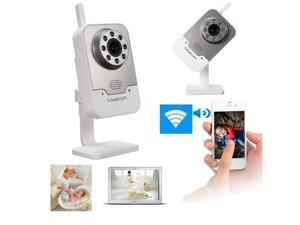 Indoor Home IR Wifi Wireless IP Camera CCTV Network Security P/T Night vision 720P With Alarm Smartphone Motion Detection