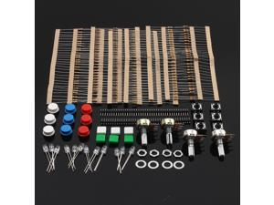 Electronic Parts Pack Kit For ARDUINO Component Resistors Switch Button LED
