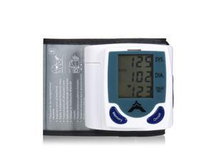Digital LCD Wrist Blood Pressure Monitor & Heart Rate Pulse Monitor