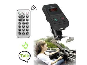 Bluetooth FM Transmitter Car Kit MP3 Player USB SD Car Charger Remote