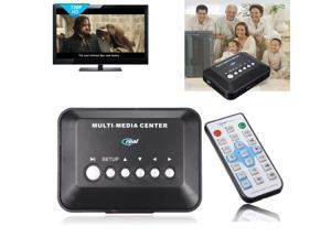 720P HD Multi TV Media Player Audio Video Player Support SD MMC AV YPbPr USB