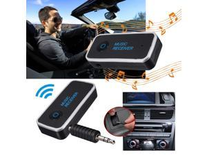 New 3.5mm Bluetooth V 4.1 Car Home Audio Stereo Music Receiver Adapter Transmitter with Handsfree Function Microphone