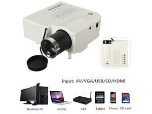 UC28+ Mini HD Multimedia LED Projector Home Cinema Theater AV VGA SD USB HDMI