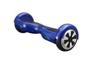 Mini Smart Self Balancing Electric Scooter - 2 Wheels - Blue