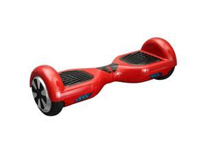 Mini Smart Self Balancing Electric Scooter - 2 Wheels - Red