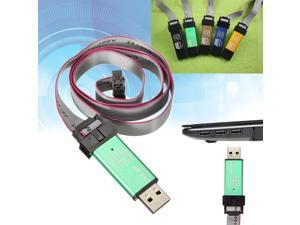USBasp USB ISP Programmer Adapter 10 Pin Cable for ATMEL AVR S51 AT89S51 AT89S52