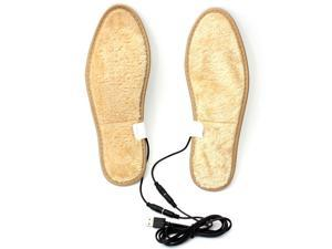 Winter Electric Foot Warmer Heated Heater USB Charging Shoe Insoles Warm Shoes Pad sizes 34-35