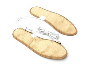 Winter Electric Foot Warmer Heated Heater USB Charging Shoe Insoles Warm Shoes Pad sizes 40-41