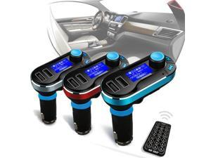 Blue LED Display Kit Car Wireless Radio Audio FM Transmitter MP3 Player USB SD Modulator w/Remote For IPod/iPhone Samsung iPad Nokia and other mobile Phone