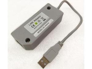 New USB 2.0 100Mbps LAN Network Adapter Connector Steady Signal Comparing to WiFi For Wii & WiiU