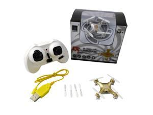 Cheerson CX-10A CX10A Headless Mode 2 Left Hand Throttle 2.4G 4CH 6 Axis RC Quadcopter RTF Golden