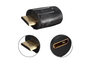 Gold Plated Mini HDMI Male To Mini HDMI Female Adapter Connector Converter v1.4