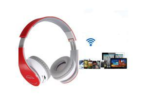 Foldable Wireless Bluetooth V4.0 Stereo Headphone Headset 3.5mm Audio USB + Mic  For iPhone  iPad Macbook Tablets Samsung HTC LG PC Computer