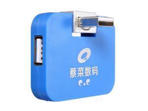 Mini 4 Port USB 2.0 Multi HUB High Speed Splitter Expansion Adapter For PC Laptop Mac Computers