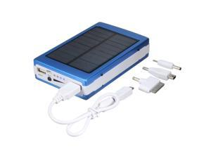 Cesapay® 50000mAh Portable Super Solar Panel Power Charger Dual USB External Battery Power Bank For Phone iPhone iPad iPod + 2835 SMD 20 LEDs LED Flashlight