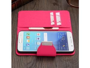 Hybrid Flip PU Leather Wallet Card Cover Case Protector  Stand For Samsung Galaxy S6 G9200