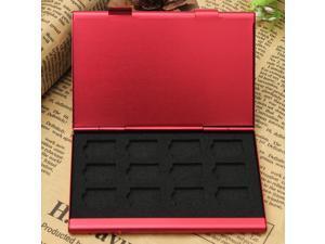 Aluminum Memory Card Case Box Holders For 24pcs TF MicroSD Card Black Red Golden