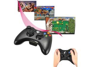 24Ghz USB Wireless Game Console Controller Joystick for PC XBOX 360 Sony PS3
