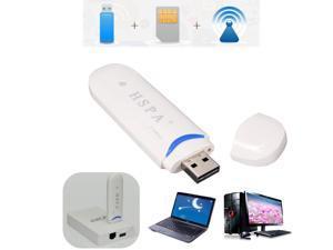 HSDPA USB 2.0 Stick SIM Modem 21MBPS 3G Wireless USB Dongle Network Adapter EDGE/GSM/GPRS/UMTS For PC Laptop Mac Tablet
