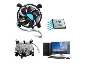 CPU Heat Sink Cooling Quiet Fan Cooler Heatsink for Intel LGA 1155 Desktop 4Pin