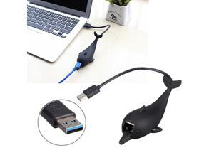 USB 3.0 to 10/100/1000 Gigabit RJ45 Ethernet LAN Network Adapter 1000Mbps Speed for XP/Win7/Win8/Mac