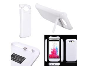 3800mAh External Battery Charger Charging Power Bank With Stand Cover Case For LG G3