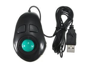 Finger Handheld 4D USB Mini Trackball Mouse Mice Thumb Control For Win7/8 ME XP