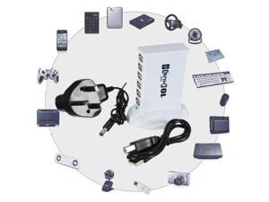 High Speed 10 Port USB 2.0 Hub Expansion 5V Power Adapter For Phone Notebook PC