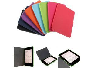 NEW Ultra Slim Lightweight Smart Protection Case Cover Wallet PU Leather  Multi-Color For Amazon Kindle Paperwhite