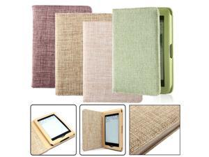 Smart Case Cover Wallet PU Leather 4 Colors For Amazon Kindle Paperwhite E-reader Protect 173x120x15mm