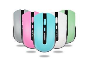 New Wireless 1200DPI 2.4GHz USB Anti- Noise Quiet Optical Mouse Mice Win Mac