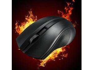 New Black Wireless USB 2.4GHz 1000DPI Optical Mice Mouse For Windows Mac