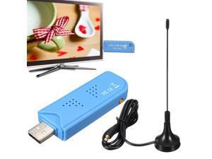 USB 2.0 Digital DVB-T SDR+DAB+FM HDTV TV Tuner Receiver Stick for Win XP/7/Vista