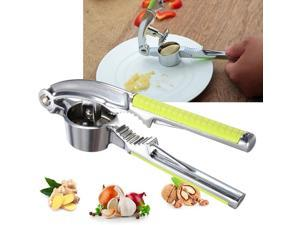 Zinc Alloy Home Kitchen Hand Tools Gadget Ginger Garlic Presses Nut Cracker Crusher