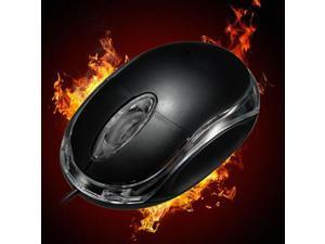 Mini USB Wired Office Mouse Scroll Wheel 3 Buttons 800DPI For Laptop Desktop PC
