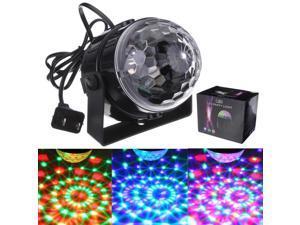 Mini RGB LED Christmas Xmas Party Disco Club Pub DJ Light Crystal Magic Ball Stage Effect Lighting