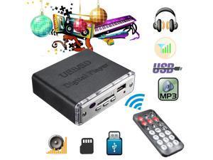 12V Mini Car Motocycle Stereo Amplifier Amp LED USB/SD Digital Player Mp3