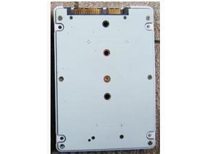 E431 E531 X240S Y410P Y510P M.2 NGFF SSD To 2.5 SATA3 Adapter With Case White